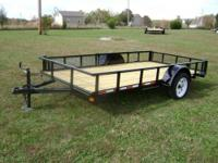 This is a brand new 6'x12' trailer which includes the