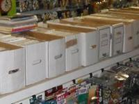 We have approximately 45,000 comic books graphic novels