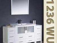 Our Torino line of vanities is wonderfully new &