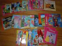 Great books, everything from Disney to Bearinstein
