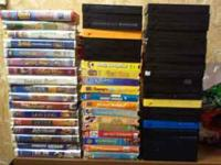 60 children vhs tapes for 50 cents a piece or 25$ for