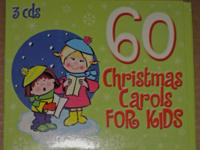 USED 60 Christmas Carols for Kids 3 CDs - 60 Songs