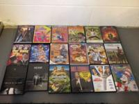 60 DVD movies (see pictures)  4- DVD sets,seasons- (1)