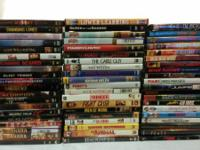Selling 60 DVD's. All in excellent condition. All in