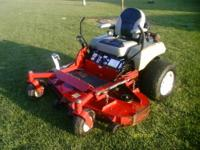 "For sale older 60"" exmark commercial grade mower. I"