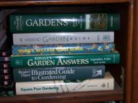 Selection of over 60 Garden Books. All in excellent