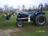 1992 2610 long 60 hp diesel 1218 hrs factory loader