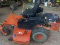 I have a 60 inch bad boy Pro series zero turn mower.
