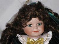 Bryanna Tiny Tot is a porcelain Marie Osmond doll. She