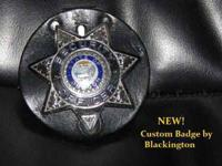 A NEW Custom built badge by Blackington. (The best