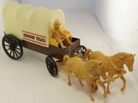 Great Plastic Stage Coach Vintage Toy, from Processed