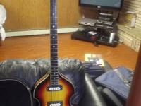 This bass is generally a Hofner copy from around 1967.