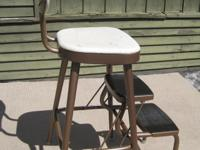 Ames Maid kitchen chair with fold out step in very good