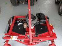 "60"" Swisher pull behind mower. T-60 Trailmower with 13"