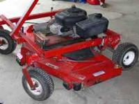 Upgraded to a Ferris mower, now selling a Swisher 60""