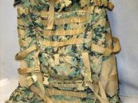 I have a few USMC Issue Marpat Backpack for sale. These