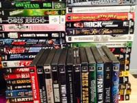 I'm selling my large collection of WWE wrestling dvd's.