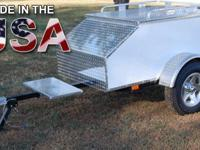 "60"" x 36"" x 24"" Aluminum Enclosed Motorcycle / Car"