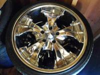 "NOW THE PRICE IS LOWER!!! 20"" Modera Wheels and tires"