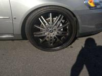 22x8 velocity rims (vw910) 5 lug bolt pattern . rims