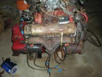 Available is one 1954 lincoln 317 engine is the cargo
