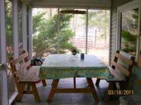 available for rent cabin on Loyalsock Creek 6.5 miles