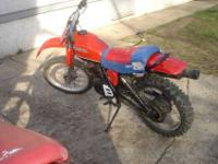 hello i have for sale is a dirtbike it is a four