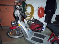 For sale is this eGO Classic electric scooter. This is