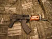 For sale I have a 600 FPS Full Metal and Wood AK-74u