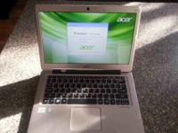 "I have for sale an Acer S3 13.3"" ultra book that is in"