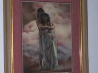 "Penni Cross ""Indian Couple"" signed and numbered This"