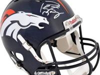 THIS IS FOR A Peyton Manning Autographed Denver Broncos