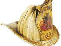 "Presentation ""Chiefs"" High Eagle Fire Helmet. Ca."