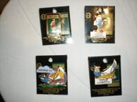For sale are a set of 4 Rare, Authentic and Limited