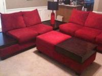 We are selling our living room set for $600 OBO. This