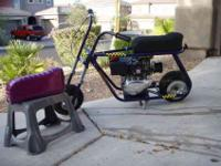Taco 22 minibike , Original owner, Taco was 1 of the