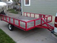 I have a nice 8'X10' utility trailer for sale. I sold