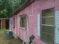 one bedroom one bath camp for sale. only a minute from