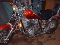 1985 Honda Shadow 700, 25,941 exact mileage, runs