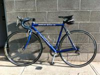 I have a 52cm Cannondale Road Bike for sale. It is in