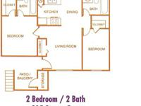 Move right into this separated two bedroom apartment