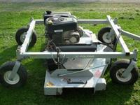 "This is a great Polaris Trail Finish Mower, 60"" deck"