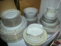 This is for a 57 pc. dinnerware set in the GARDEN