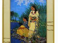 Virginia Stroud Signed/Numbered Print, Native American