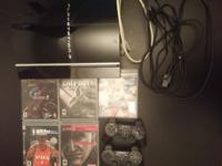 Basically new PS3 60GB CECHH01 2 Dualshock 3 Sixaxis