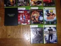 I Have A 60 GB Xbox 360, Controllers and Games For Sale