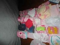 60pc of cloths sizes newborn(about 10 onesies),3