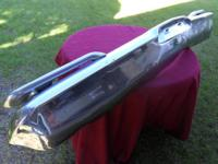 THIS IS A STOCK CHROME FRONT BUMPER THAT WAS TAKEN FROM
