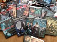 I'm aiming to get rid of my DVDs as a bundle (there are