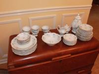 61 Pieces with Hostess Set Beautiful Vintage Johann